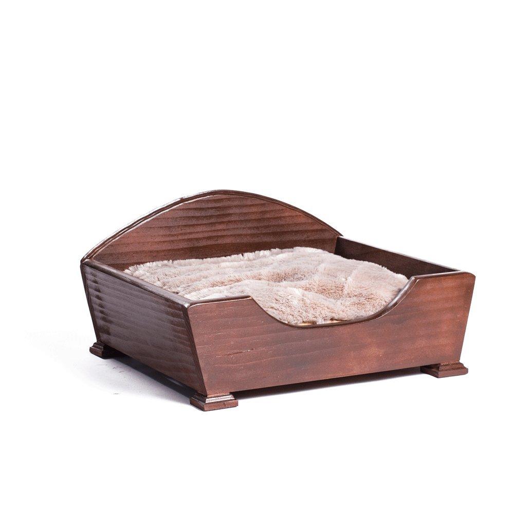 Keet Woodcourt Pet Bed, Khaki, Small