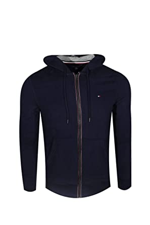 d1f37f2caebf9b Tommy Hilfiger Mens Full Zip Hoodie at Amazon Men's Clothing store: