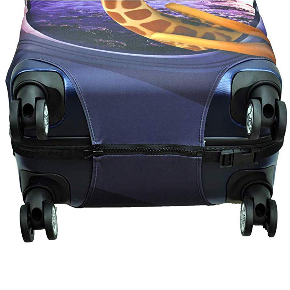 2bf8a3f0eddc Washable Spandex Travel Suitcase Luggage Bag Cover Protector Fits 30 ...