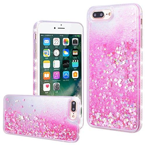 carcasa iphone 8 plus purpurina