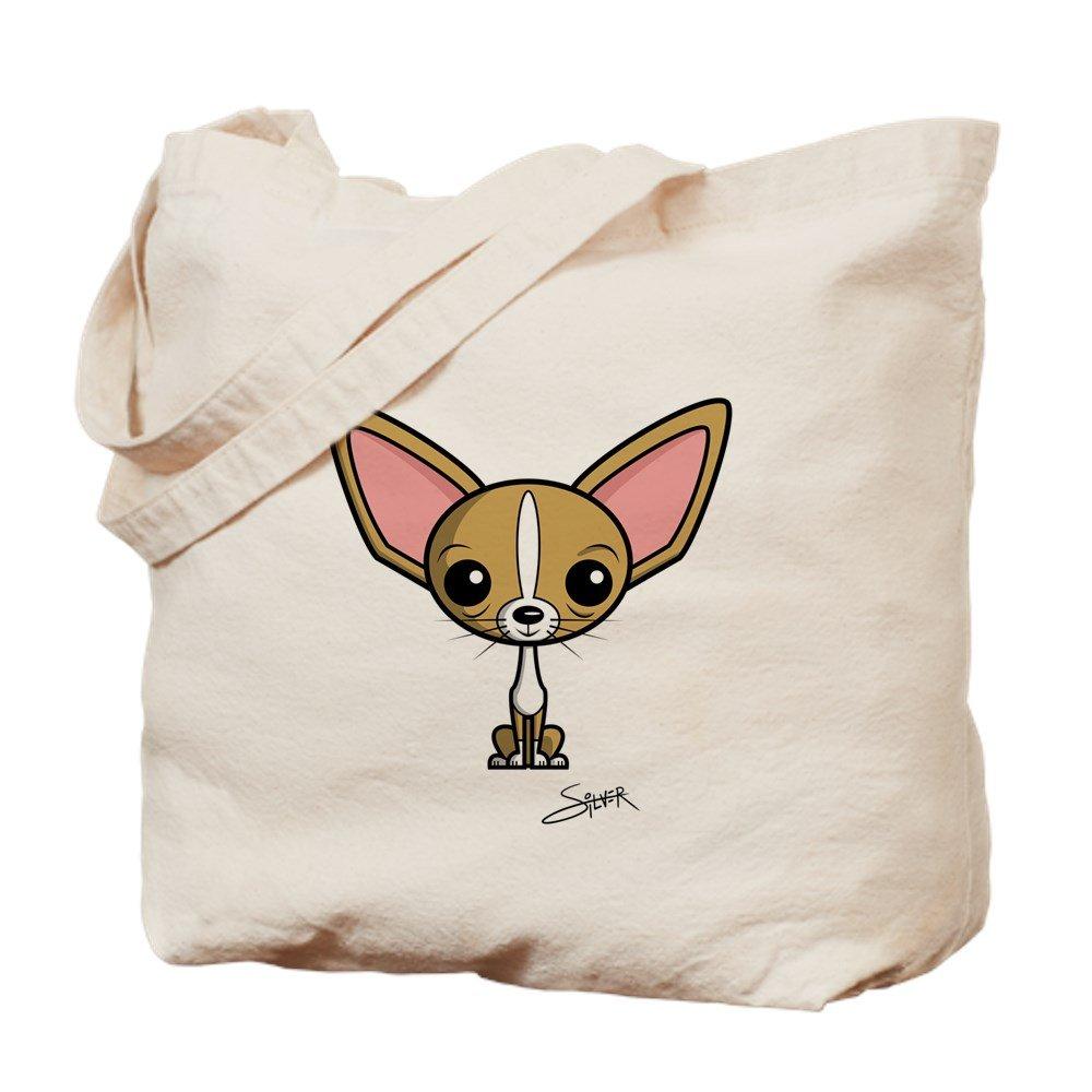 CafePress – チワワ – ナチュラルキャンバストートバッグ、布ショッピングバッグ B01JNCSKES