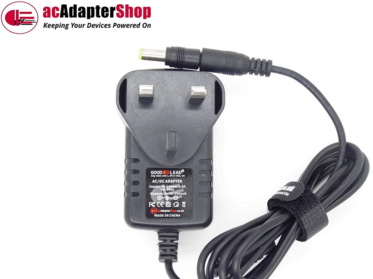 GOOD LEAD Replacement UK DC9V 9V 500mA Switching Adapter for Domyos VM Ergo Exercise Bike