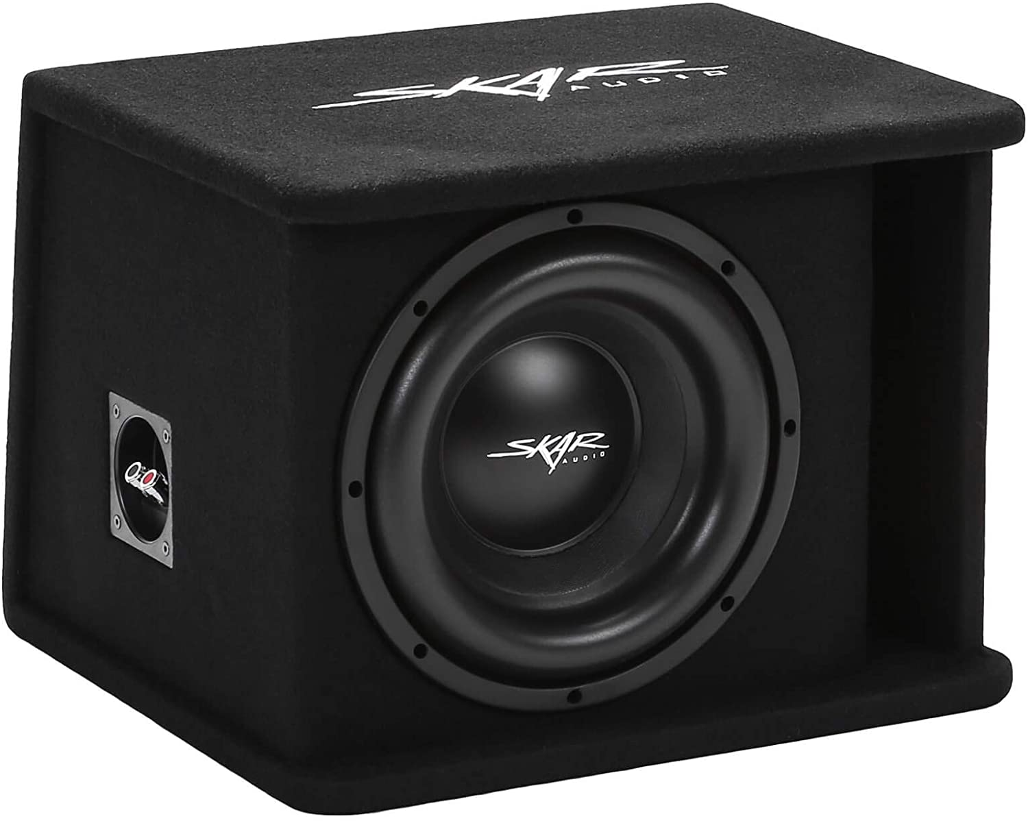 "Skar Audio Single 10"" 1200W Loaded SDR Series Vented Subwoofer Enclosure 