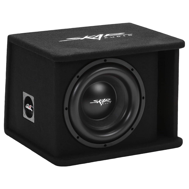 """3. Skar Audio Single 10"""" 1200W Loaded SDR Series Vented Subwoofer Enclosure"""