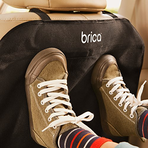 Large Product Image of Brica Deluxe Kick Mats Auto Seat Protector, 2 Pack