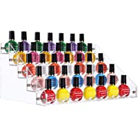 SortWise ® Acrylic Lipstick Organizer Nail Polish Makeup Case Cosmetic Stand Display Rack Holder