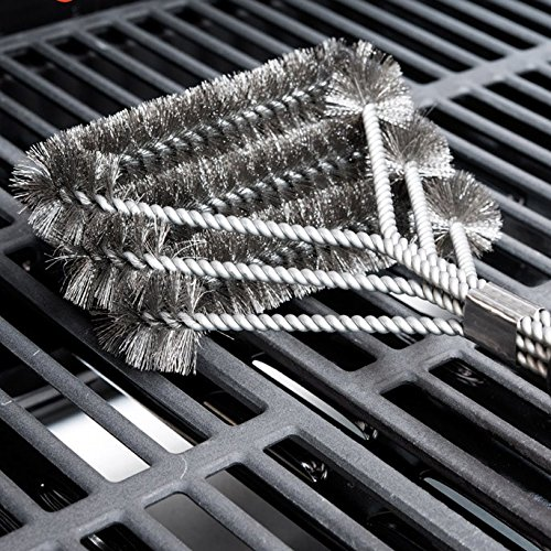 toolcool-new-grille-grill-bbq-brush-barbecue-cleaner-3-steel-wire-heads-effortless-cleaning-plastic-