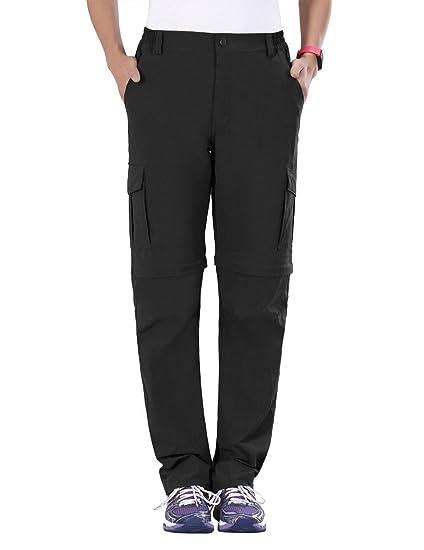 Amazon.com   Unitop Women s Quick Dry Convertible Cargo Pants ... c639e5285