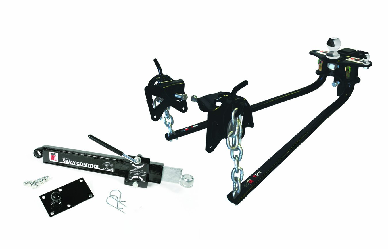 EAZ LIFT 48058 1000 lbs Elite Kit, Includes Distribution, Sway Control and 2-5/16'' Hitch Ball-1,000 lbs Tongue Weight Capacity (48058-A) by EAZ LIFT