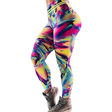 Nuevo! Leggings Yoga Mujer Pantalones Deportivos Mujer ...