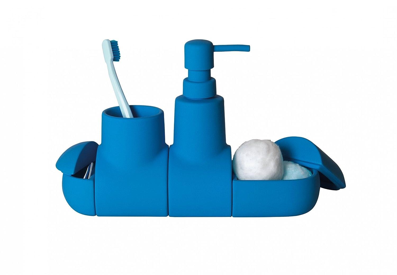 Seletti Submarino Bathroom Set Blue 10696AZZ