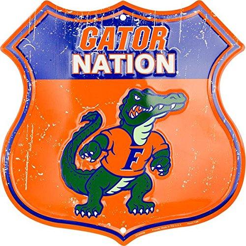 HangTime Gator Nation - University of Florida Route Sign ()