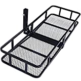 Cheap 60″ Folding Cargo Carrier Luggage Rack (Hauler Truck or Car Hitch 2″ Receiver) Hitch Hauler