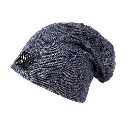 KFEK Gorro de Lana de Terciopelo Sombreros para Hombres al Aire ...