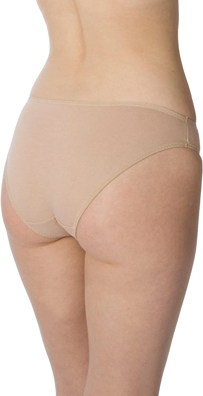 Pack of 6 RUFINA Womens Classic Cotton Brief Panties Underwear Soft Comfort Low Cut Bikini