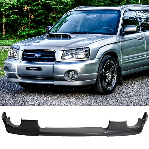 04-05 Subaru Forester SG5 DS Style Unrethane Add-On Front Bumper Lip Spoiler Bodykit