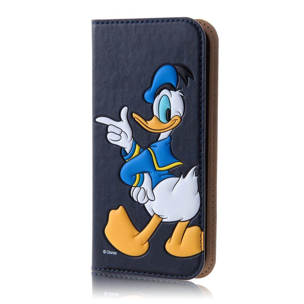 2cf4326db3 レイ・アウト iPhone SE/5s/5 ケース ディズニーポップアップブックレザーケース ドナルド