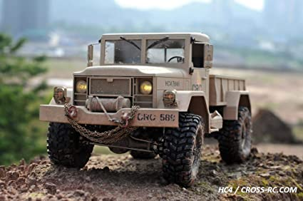 CROSS-RC HC4 4WD 1/10 Scale Off Road RC Truck Rock Crawler KIT