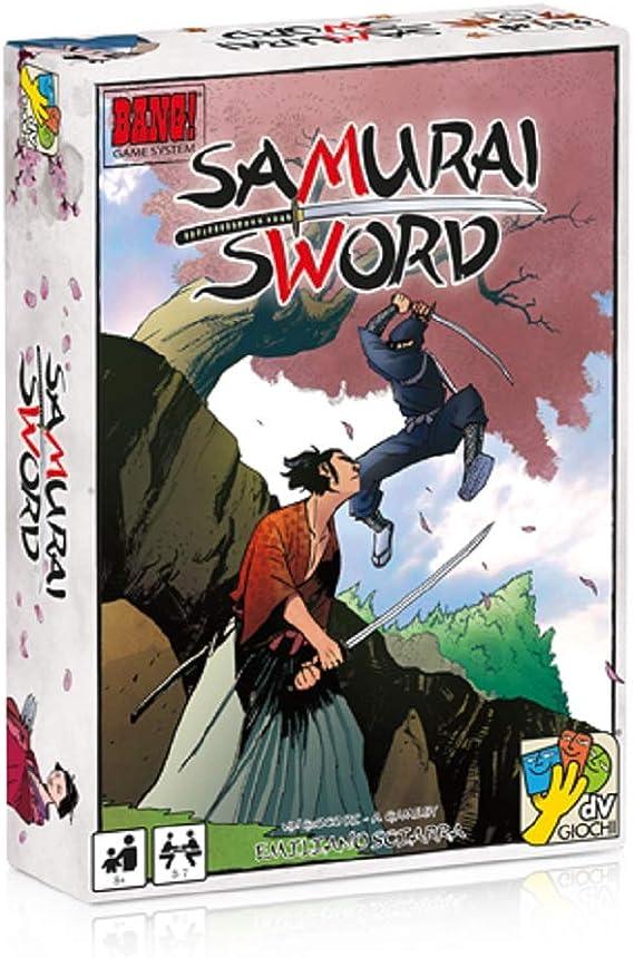 Dv Giochi DVG9131 Samurai Sword - Juego de cartas: Samurai Sword Card Game: Amazon.es: Juguetes y juegos