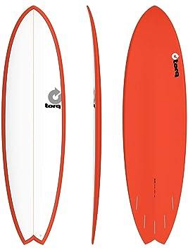 Tabla de Surf Torq epoxy Tet 6,10 Fish Red: Amazon.es: Deportes y ...