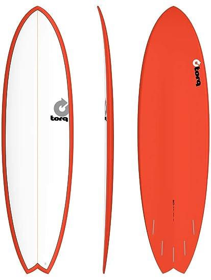 Tabla de Surf Torq epoxy Tet 6,10 Fish Red