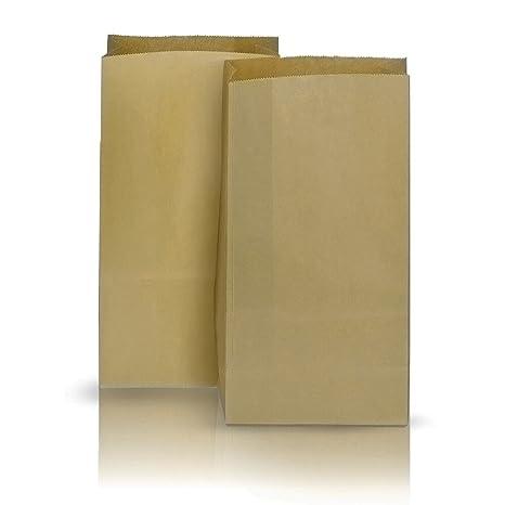 Juego de 50 bolsas de papel para reciclaje, 40 x 16 cm ...