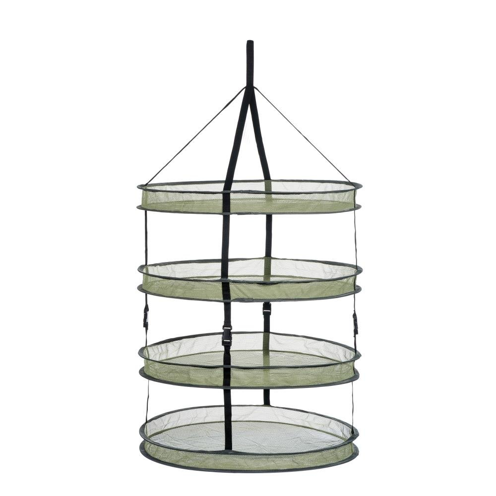 Growtent Garden 2ft 4 Layer Collapsible Mesh Hanging Hydroponic Plant Drying Rack Net …