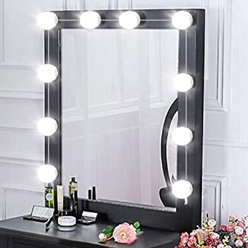 Amazoncom Guanma Vanity Led Mirror Light Kit Makeup Hollywood