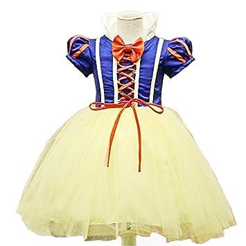 Disfraz de Princesa de Nieve para Niñas, para Halloween, Fiesta, Vestido, Carnaval, Disfraz