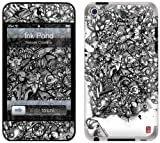 GelaSkins Protective Skin for iPod Touch 4G with Access to Matching Digital Wallpaper Downloads - Ink Pond