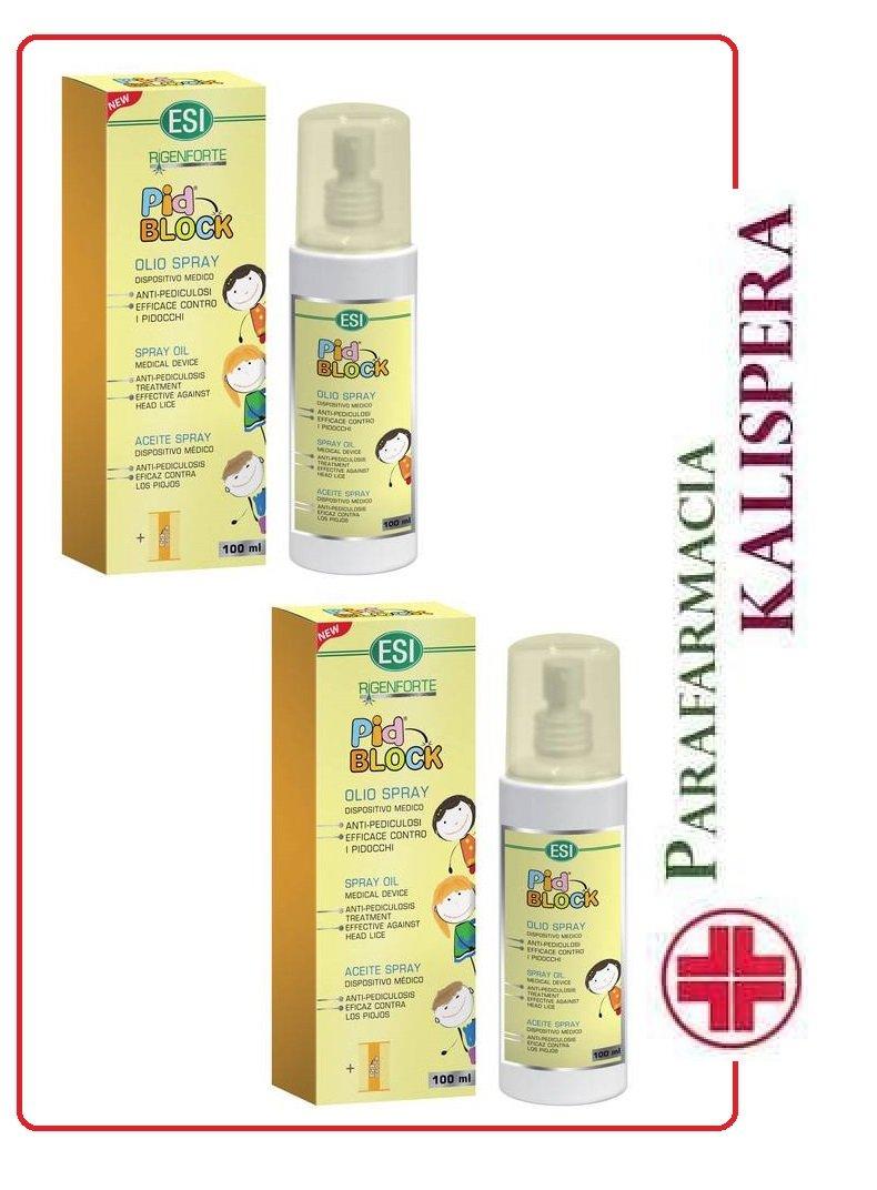 Esi - Set de dos frascos de aceite en spray para el tratamiento de ...