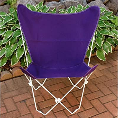The Hamptons Collection Violet Purple Replacement Cover for Retro Folding Butterfly Chair : Patio Chair Covers : Garden & Outdoor