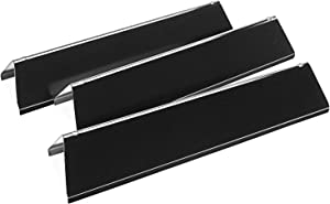 Utheer 7635 Flavor Bars 15.3 inch for Weber Spirit 200 Series 2 Burners, Spirit E210 E220 S210 S220 with Front Control Knobs, Gas Grill Replacement Parts for Weber 16 Gauge Porcelain Steel Heat Plate