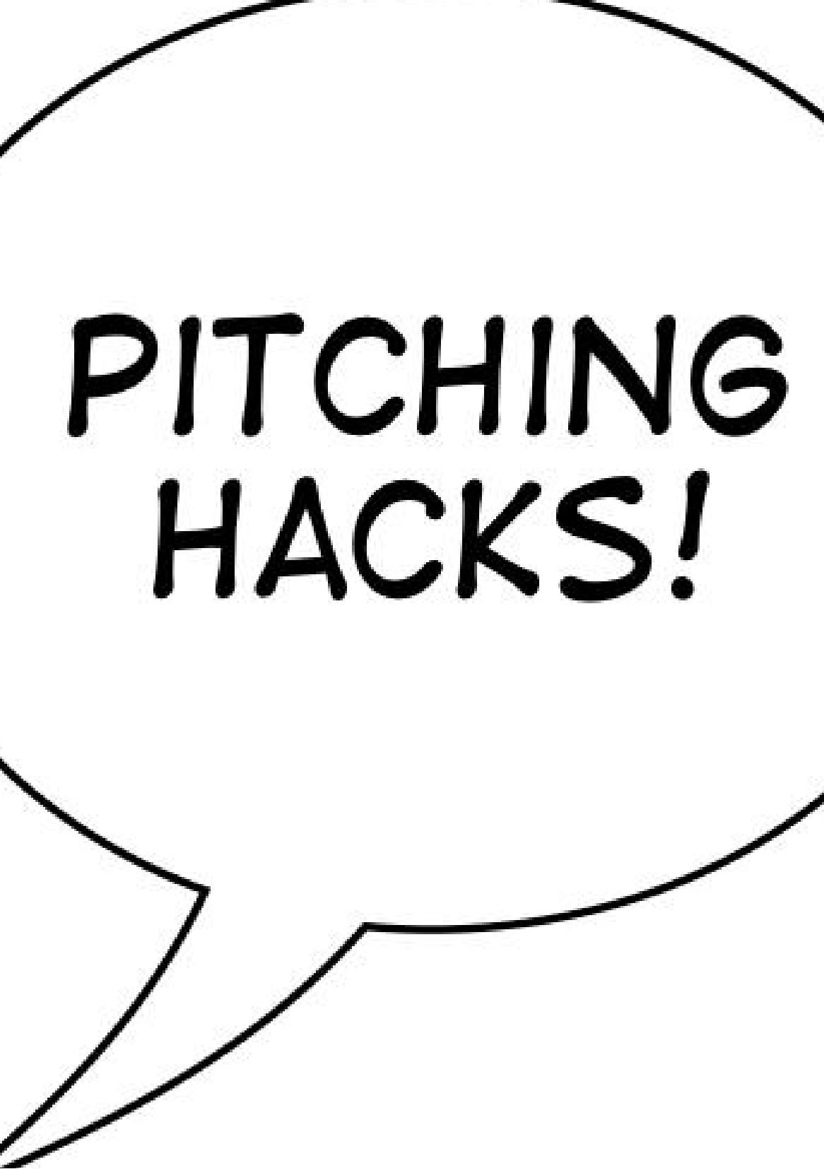 Download Pitching Hacks: How to pitch startups to investors pdf