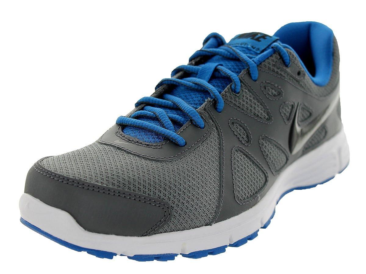 Running Shoe Dark Grey/Military Blue