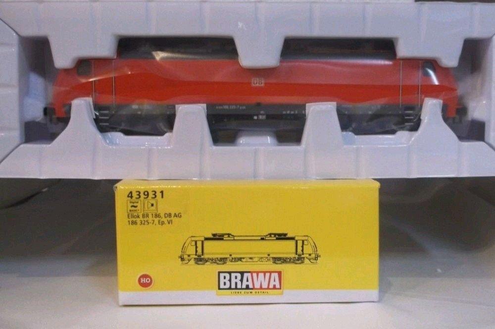 Brawa 43931 Elektrolok BR186 DB AG