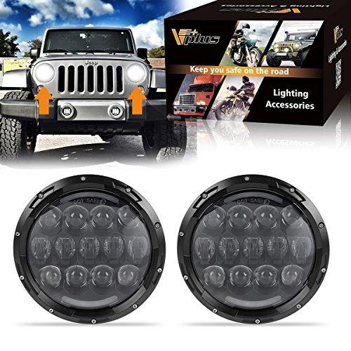 jeep wrangler headlight bulbs - 7