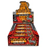 Granate Nutrition - Grenade Carb Killa Protein Bar - High Protein, Low Carb Protein Supplement Bars (Peanut Nutter, 12 Bars)