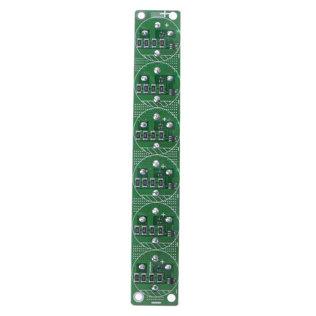 Condensador JENOR Farad 2,7 V 500 F 6 piezas/1 Set Super Capacitancia con placa de protección: Amazon.es: Industria, empresas y ciencia