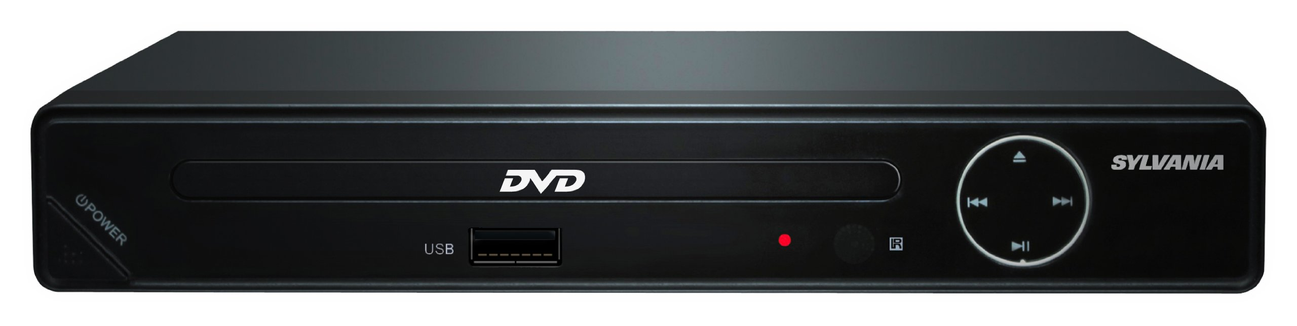 SDVD6670 Progressive Scan Compact HDMI DVD Player, 1080p Upconvert with USB Input by Sylvania