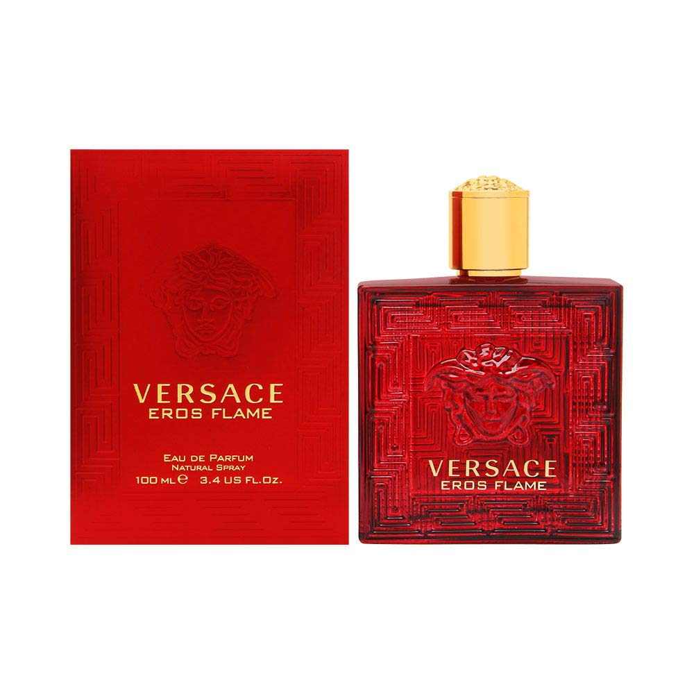 Versace Versace eros flame for men eau de parfume spray, 3.4 Ounce, Red by Versaace