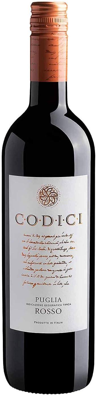 Vinho Italiano Tinto Codici Rosso Puglia IGT