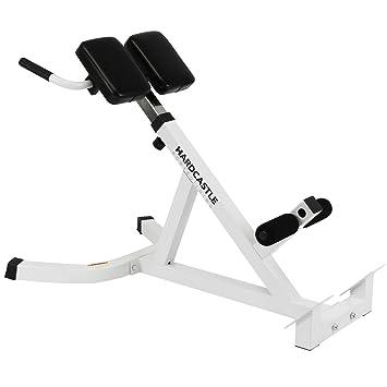 Banco de hiperextensiones para zona lumbar Hardcastle - Para ejercitar los músculos de la espalda: Amazon.es: Deportes y aire libre