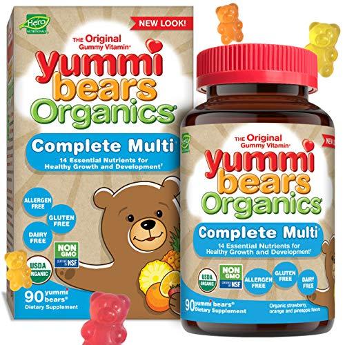 Yummi Bears Organics Complete Multi Vitamin for Kids