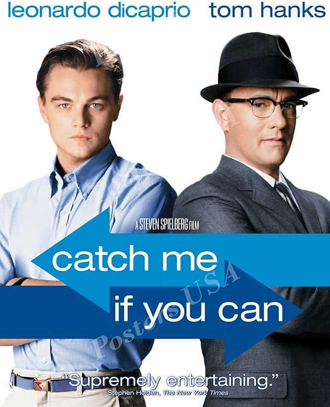 Amazon Com Posters Usa Catch Me If You Can Movie Poster Glossy