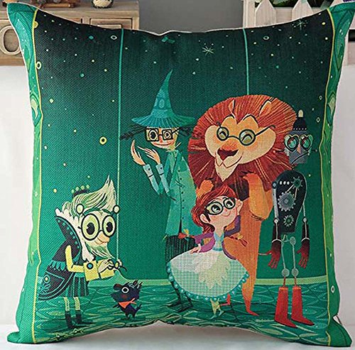 2016 New Style Animal Fish Cartoon Pillowcase,1818 Inches,The Wizard Of Oz Emerald City - Styles Eyeglass 2015