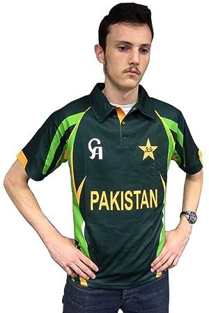 New CA Sports Adult Mens Pakistan T20 Cricket Replica Match Quality Shirt  S-XXL