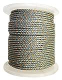 KUFA Sports 400′ Leaded core Rope, 5/16″, Light Blue