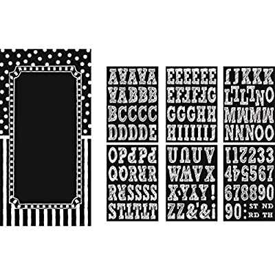 """Amscan 241137 Decorating Kit Party Décor, 65"""" x 33 1/2"""", Black/White: Kitchen & Dining"""