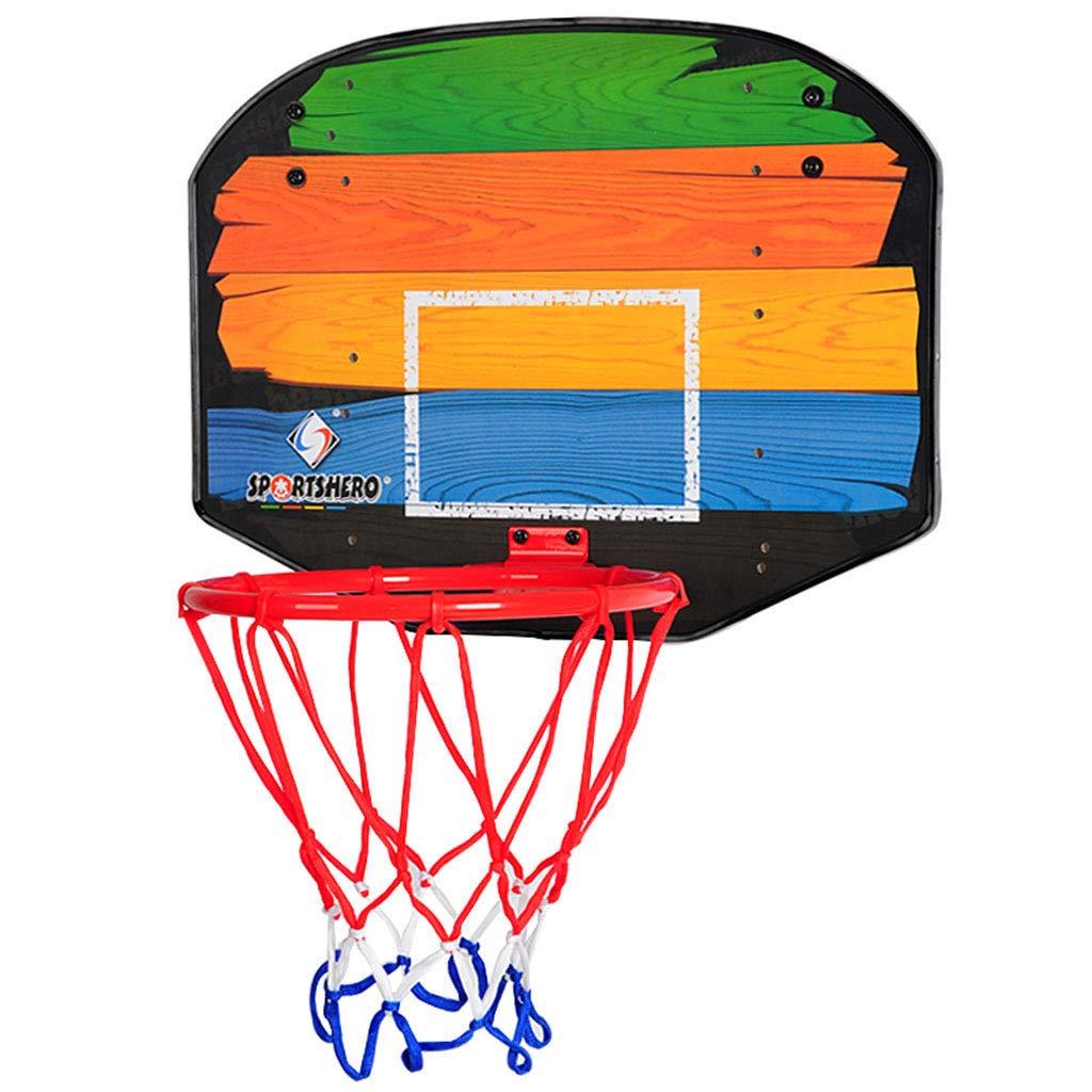 ハンギングバスケット子供のバスケットボールの箱子供のおもちゃのバスケットボールのフープ屋内の標準バスケットボールのフープ大人と子供が遊ぶことができます ボールボールケース (Color : Blue, Size : 60 * 45.5CM/24 * 18inch) 60*45.5CM/24*18inch Blue B07GWGPM9R